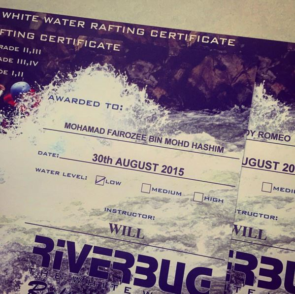 Water Rafting and Ipoh Adventures